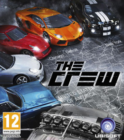 The Crew Peter Connelly - The crew us map